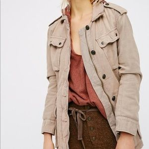 Free People Not Your Brother Surplus Military Jkt